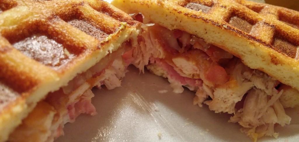 Keto Waffle Sandwich