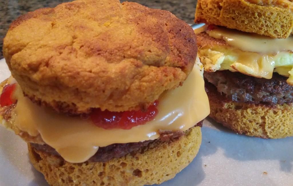 Keto Breakfast Sandwich Recipe