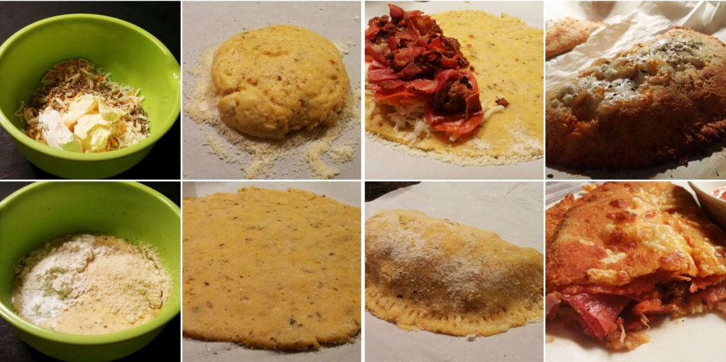 Low Carb Keto Calzone