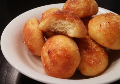 Low Carb Garlic Dough Balls
