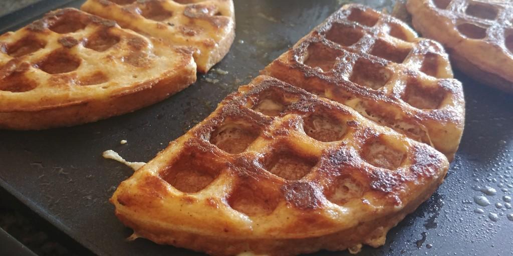 Keto French Toast Waffles