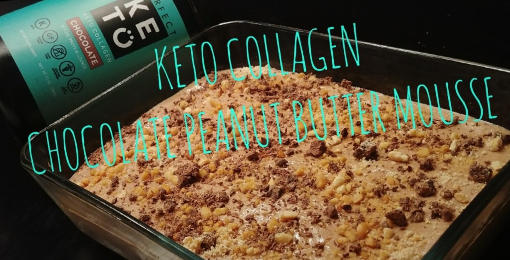 Perfect Keto Collagen Chocolate Peanut Butter Mousse