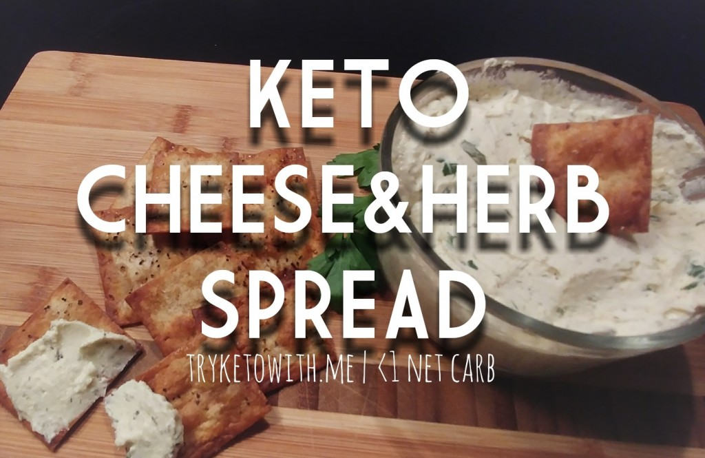 Keto Cheese and Herb Spread Recipe 1
