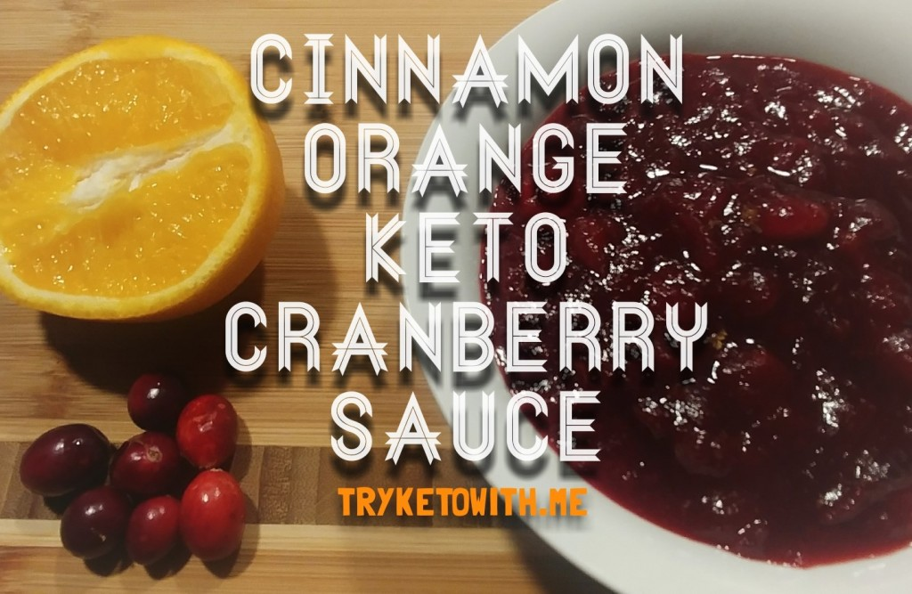 Keto Cranberry Sauce