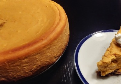 Keto Pumpkin Spice Cheesecake