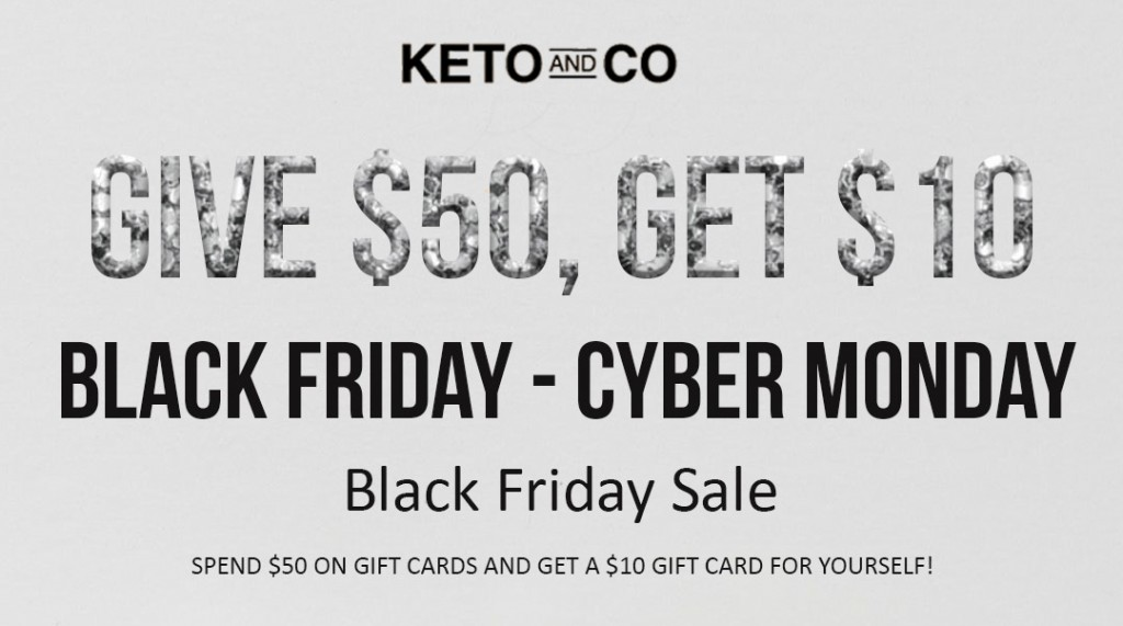 Keto Black Friday