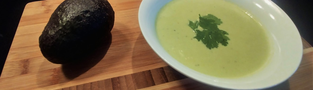 Creamy Keto Avocado Soup