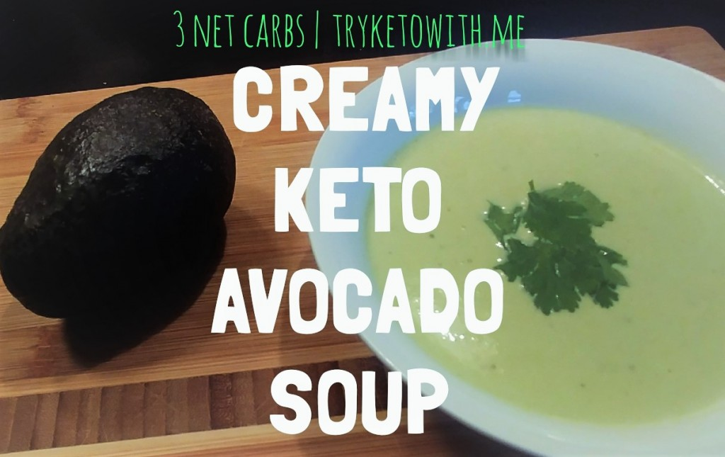 Creamy Keto Avocado Soup Recipe