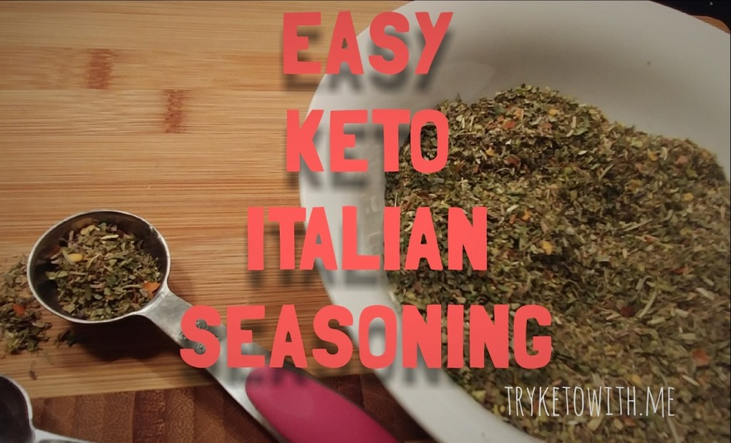 Keto Italian Seasoning Recipe
