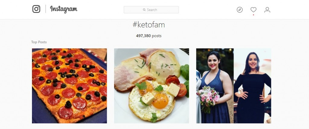 Keto New Year's Resolution Social
