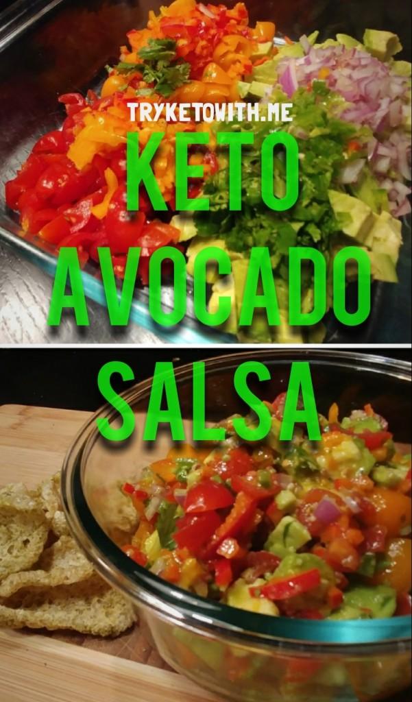 TKWM Keto Avocado Salsa