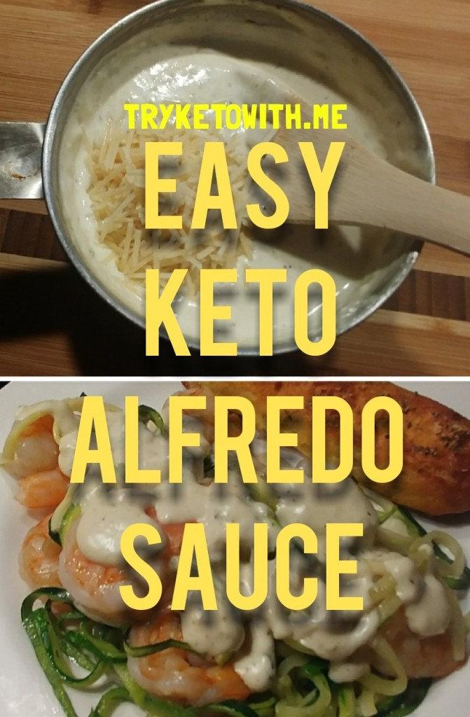 Easy Keto Alfredo Sauce Recipe Tryketowith Me