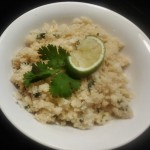 Keto Cilantro Lime Cauliflower Rice
