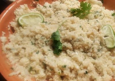 Keto Cilantro Lime Cauliflower Rice Recipe
