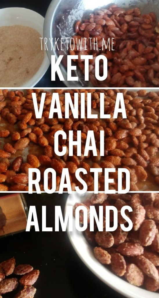 Keto Vanilla Chai Almonds