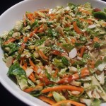 Keto Brussels Sprout Slaw Recipe