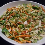 Keto Brussels Sprouts Slaw