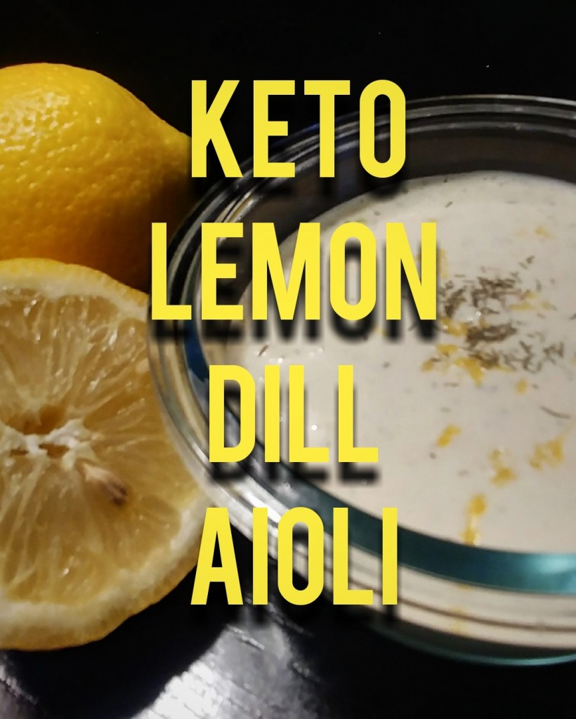Keto Lemon Aioli Recipe