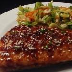 Keto Sesame Ginger Salmon Recipe