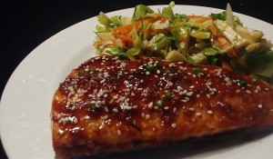 Keto Sesame Ginger Salmon Recipe