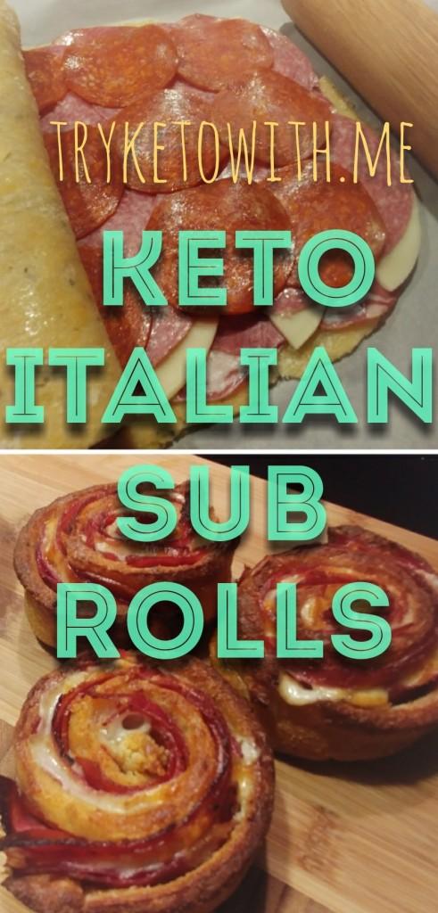 tryketowithme keto italian sub roll recipe
