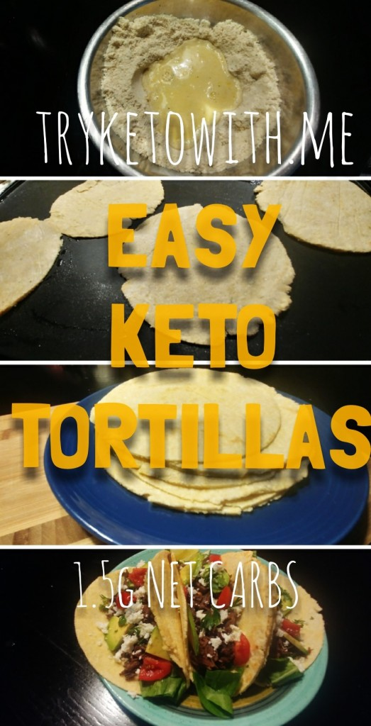 tryketowithme keto tortilla recipe