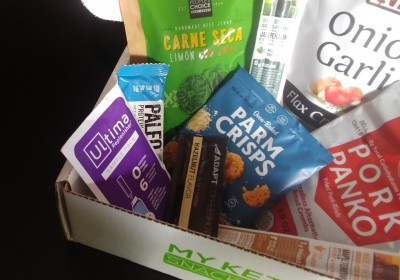My Keto Snack Box Review July18a