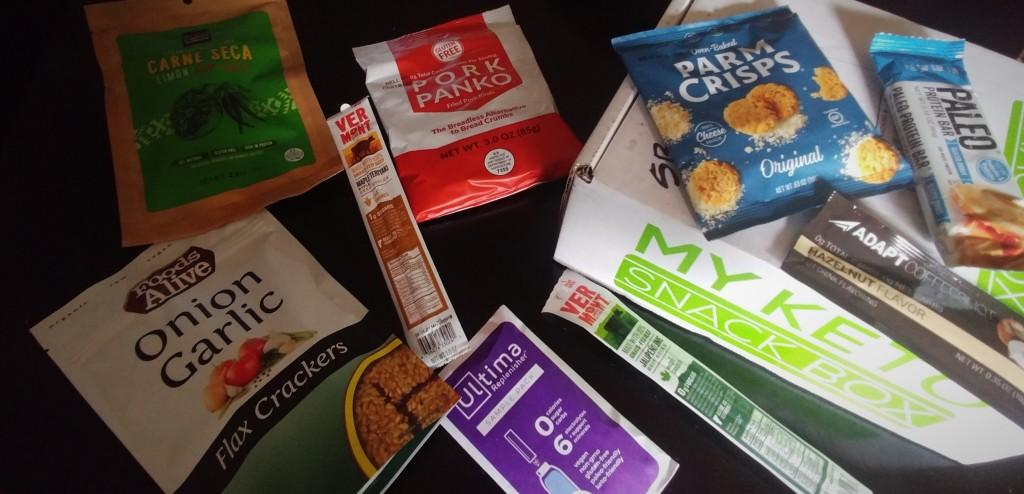 My Keto Snack Box Review July18b