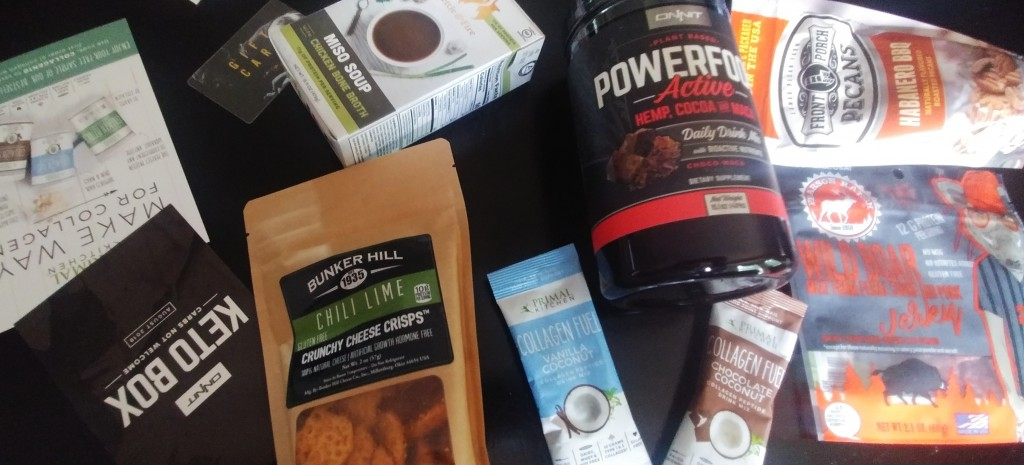 Onnit Keto Box Review August 2018a