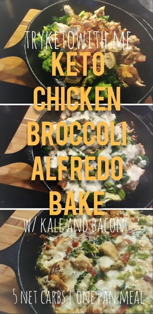 TryKetoWithMe Keto Chicken Alfredo Bake Recipe