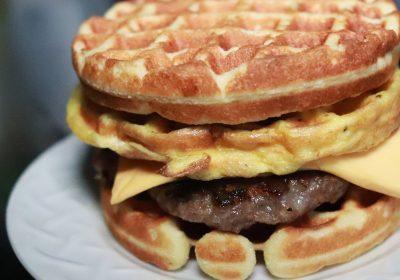 Keto Waffle Breakfast Sandwich Recipe Tryketowith Me