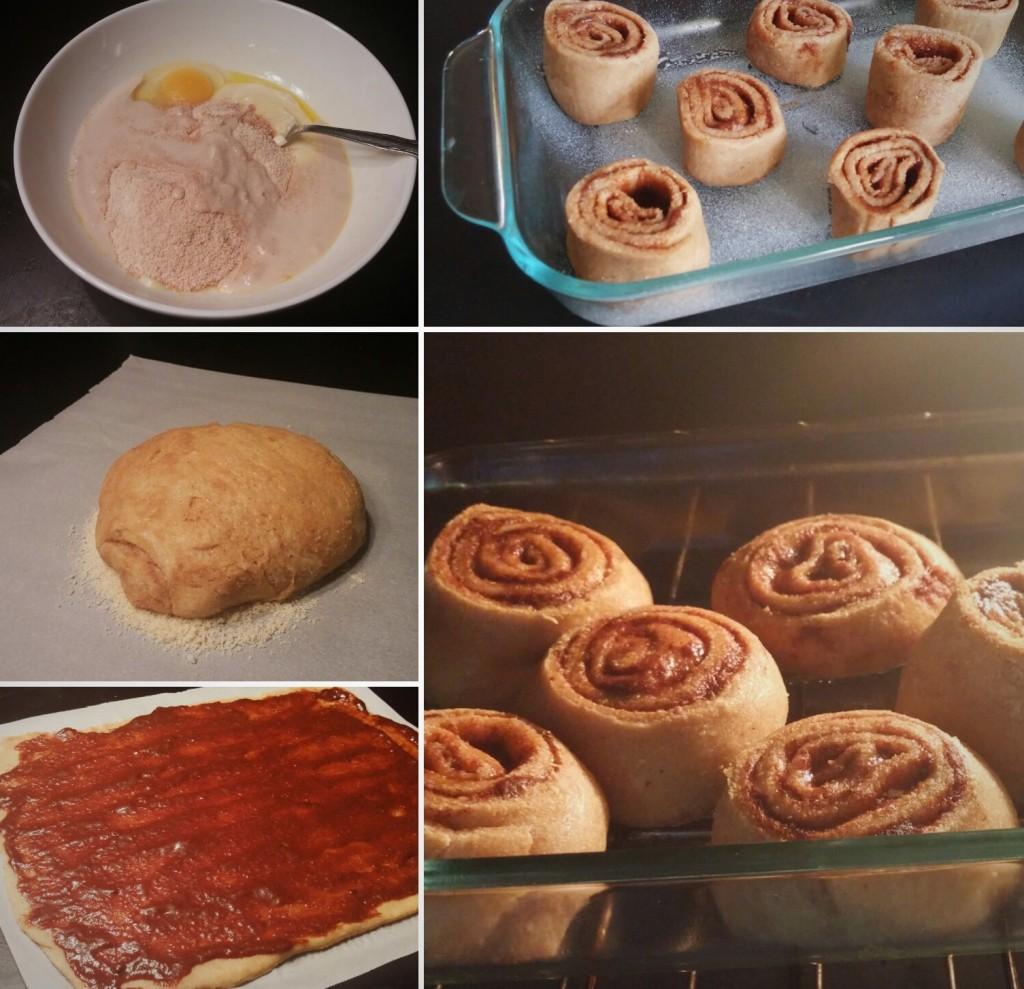 cinnamon roll recipe for the ketogenic diet